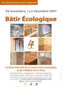 Salon construction cologique nergies renouvelables performance nerg tique et construction - Salon maison ecologique ...
